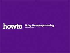 Capa do e-book de Ruby Metaprogramming do HOWTO