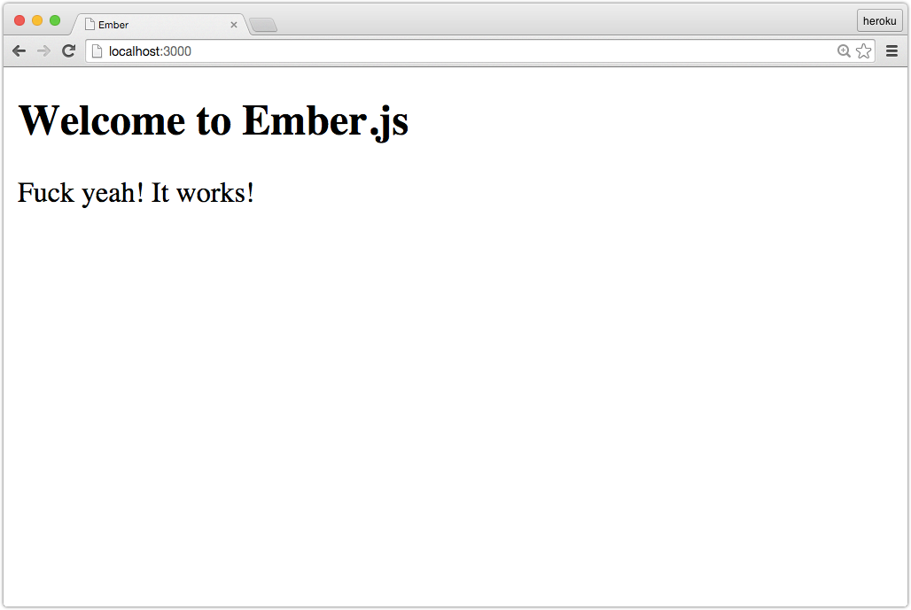 Ember.js in a Ruby on Rails app
