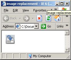 Técnica aplicada no IE6