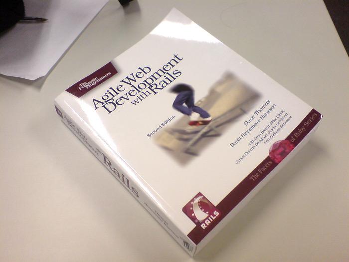 Livro Agile Web Development with Rails