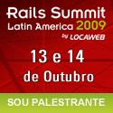 Rails Summit - Sou palestrante