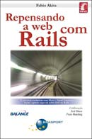 Capa do livro Repensando a Web com Rails