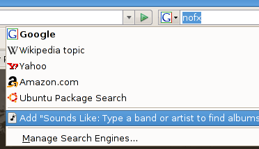 Mecanismo de busca no Firefox