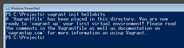 Criando o arquivo de configuração Vagrantfile