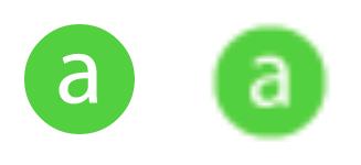 Diferença entre imagens vetoriais e rasterizadas