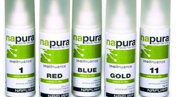 Красители для салонов красоты от компани Napura