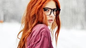 Правильный уход за рыжими волосами