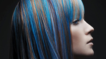 Колорирование волос в домашних условиях
