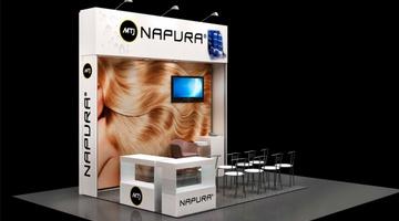 Napura на выставке Intercharm Украина-2017