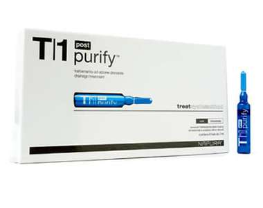 T1 Purify™ Purify Post (Биологическое очищение.Detox) Ампулы. Перед шампунем, 4 ампулы по 8 мл.