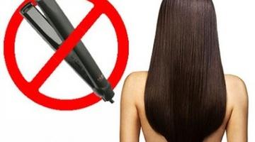 Как выровнять волосы без утюжка - компания Napura