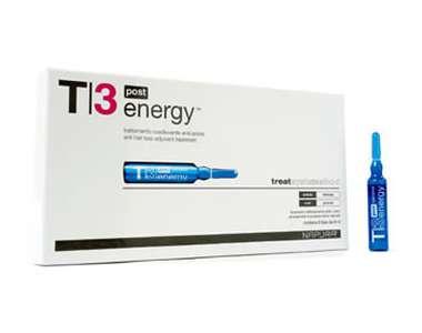 T3 Energy Post (Против выпадения) Ампулы для жирной кожи головы. После шампуня 4 ампулы по 8 мл