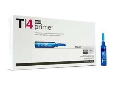 T4 Prime Post (Профилактика выпадения волос) 4 Ампулы. После шампуня