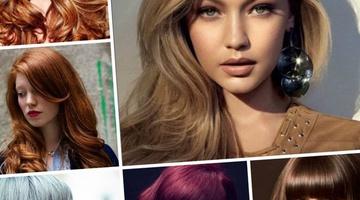 Модное окрашивание волос в 2017 году