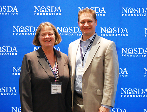 NASDA CEO Barb Glenn and USDA AMS John Miklozek