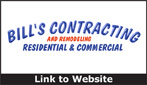 Website for Bill's Contracting & Remodeling, LLC