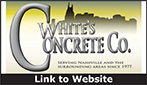 Website for White's Concrete Company
