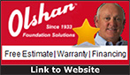 Website for Olshan Foundation Repair & Waterproofing Co. of Nashville, LP