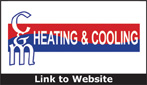 Website for C & M Heating & Cooling, Inc.