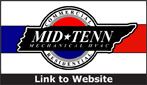 Website for Mid-Tenn Mechanical
