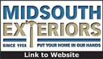 Website for Mid-South Exteriors
