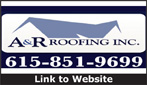 Website for A & R Roofing, Inc.