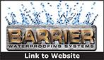 Website for Barrier Waterproofing Systems, LLC