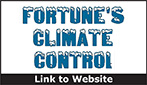 Website for Fortune's Air Conditioning and Heating