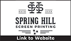 Website for Spring Hill Screen Printing