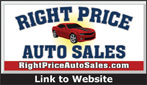 Website for Right Price Auto Sales, Inc.