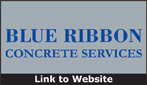 Website for Blue Ribbon Concrete Services, LLC