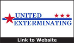 Website for United Exterminating of Tennessee