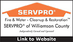 Website for SERVPRO Of Williamson, Maury & Giles Counties