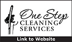 Website for One Step Cleaning Service