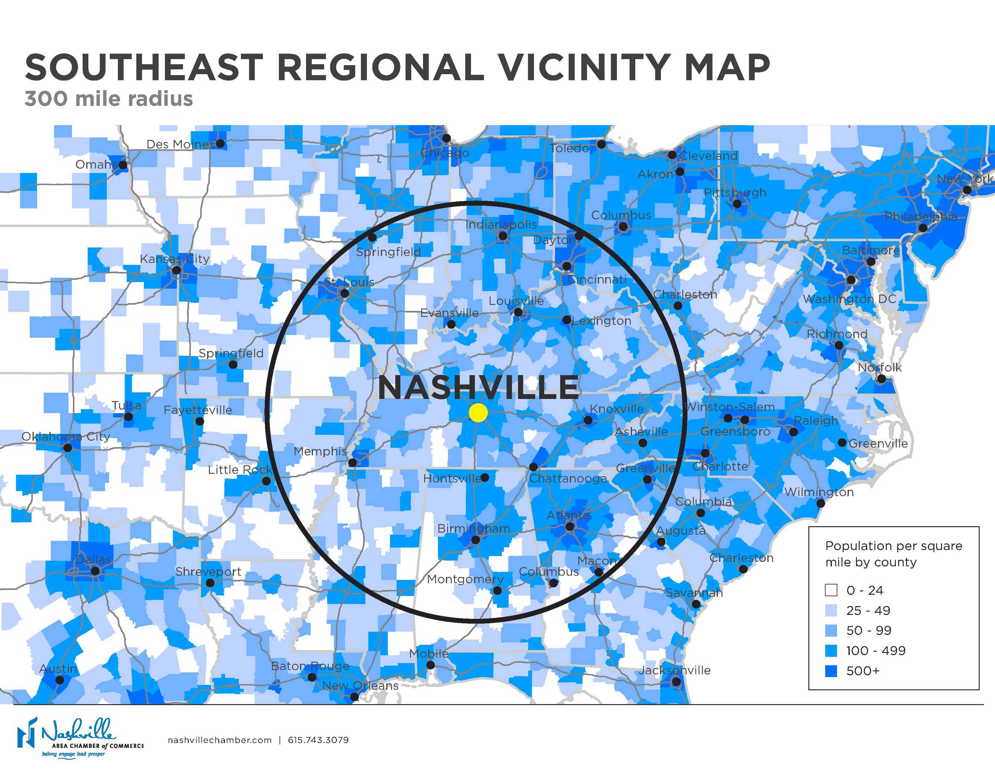Maps | Nashville Area Chamber of Commerce