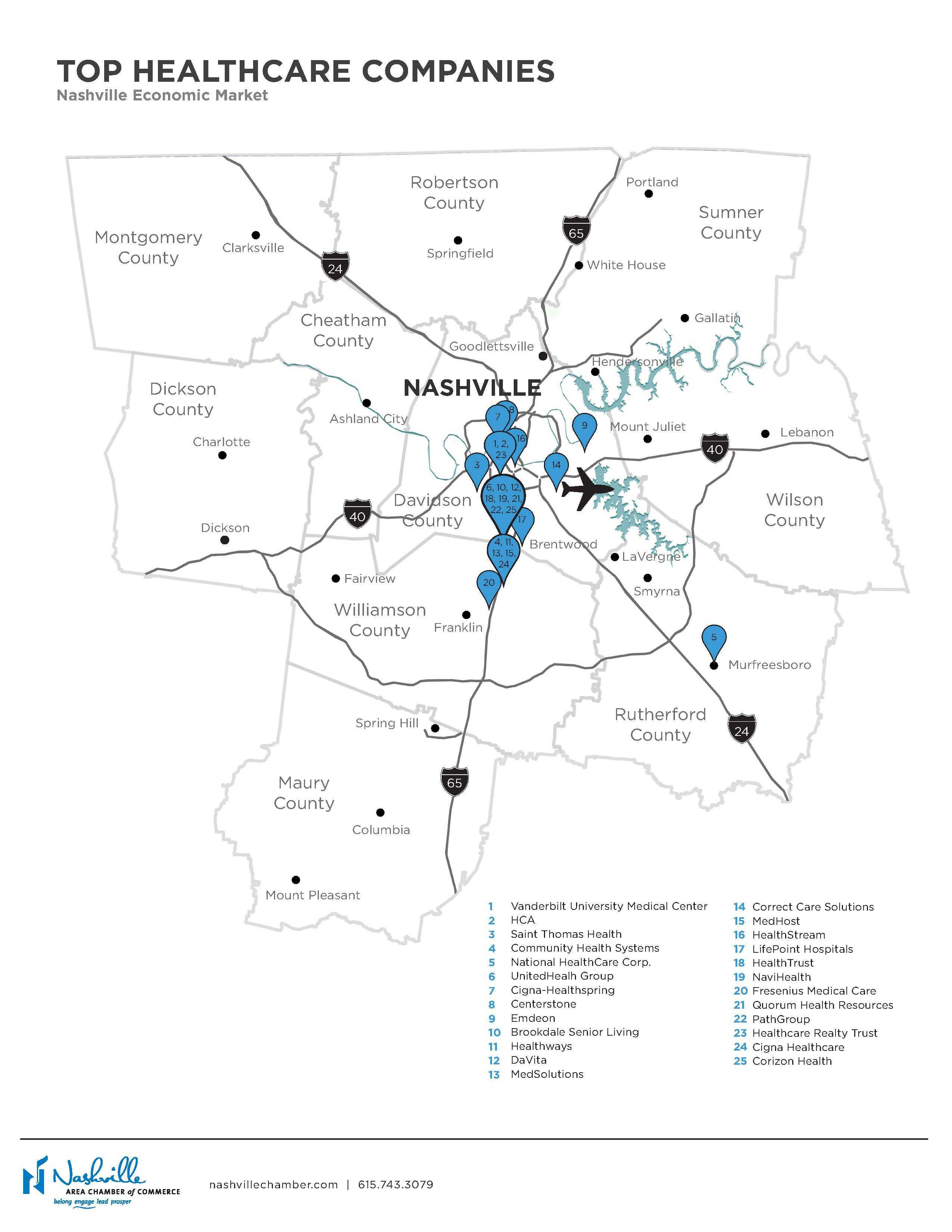 Maps | Nashville Area Chamber of Commerce