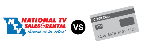 National TV Sales & Rental  vs. Credit Card