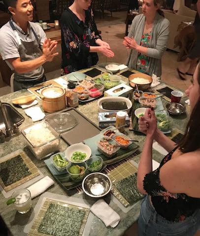 Sushi Making Classes