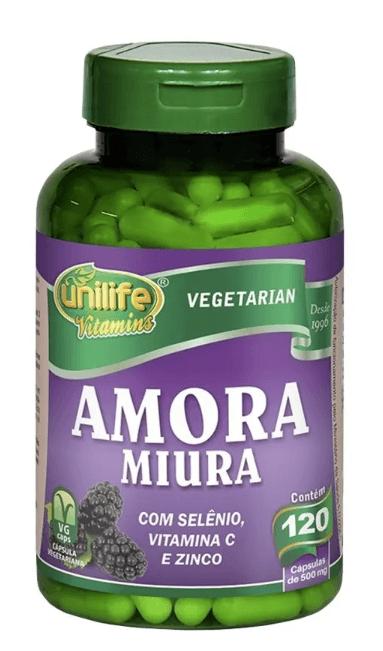 Amora Miúra Unilife 120 Cápsulas Regulador Hormonal