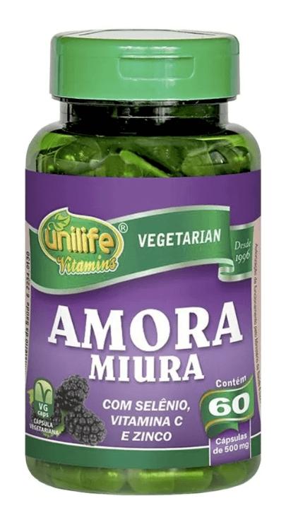Amora Miúra Unilife 60 Cápsulas Regulador Hormonal