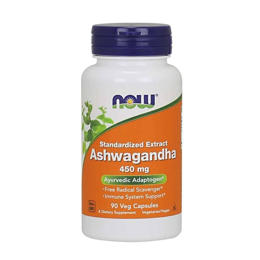 Ashwagandha 450 mg Now Foods 90 Caps.