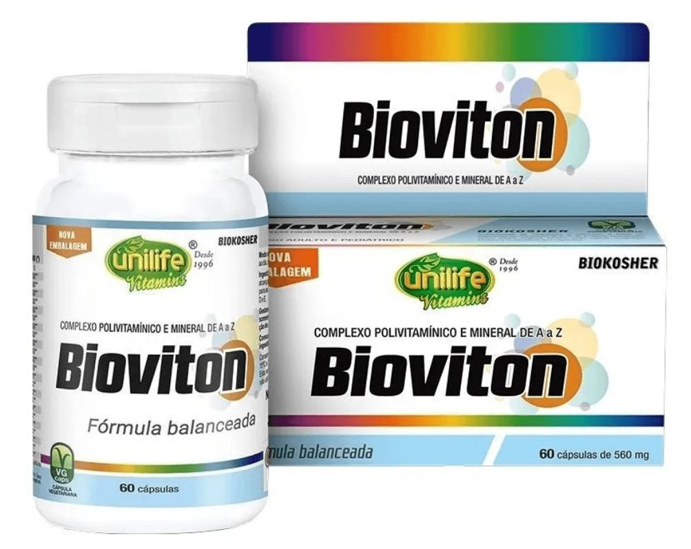 Bioviton Polivitaminico A - Z 60 Cáps 560mg Unilife