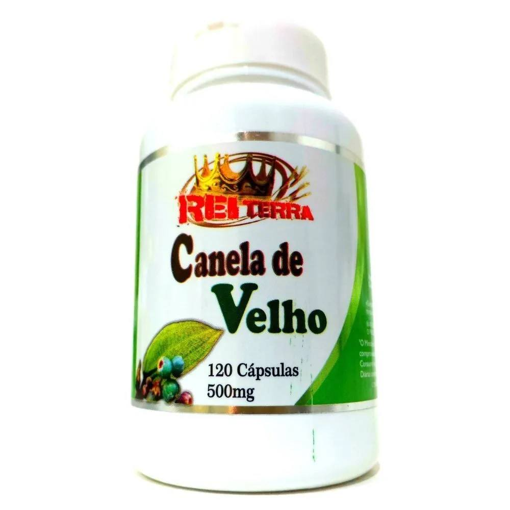 Canela de Velho 120 cápsulas 500 mg Rei Terra