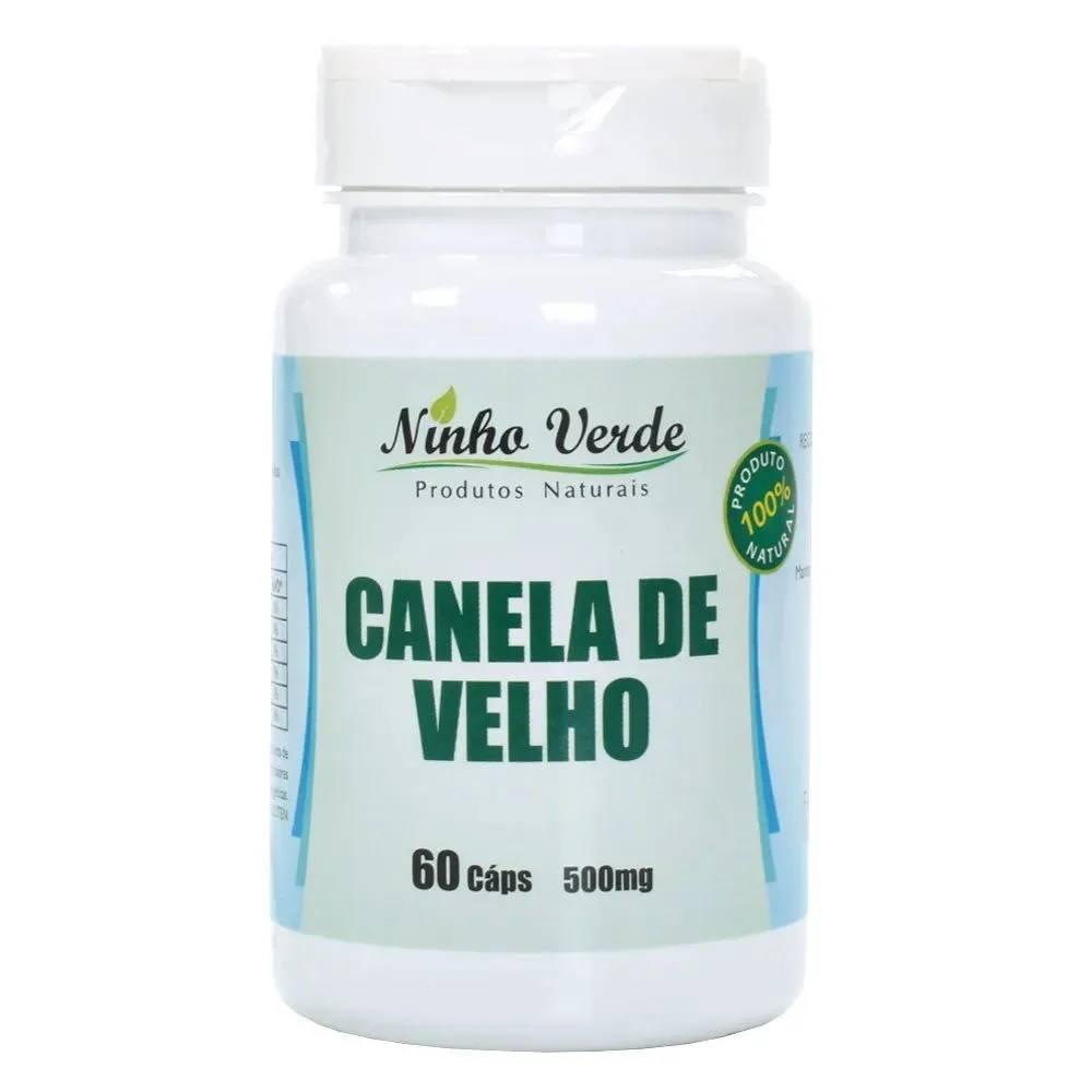 Canela de Velho 60 caps. 500 mg Ninho Verde