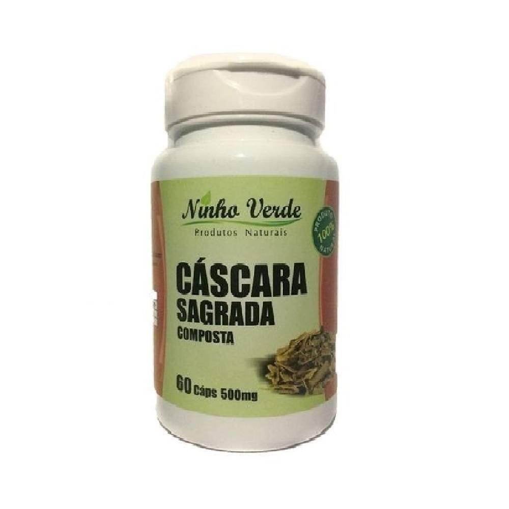 Cáscara Sagrada Composta 60 cápsulas 500 mg Ninho Verde