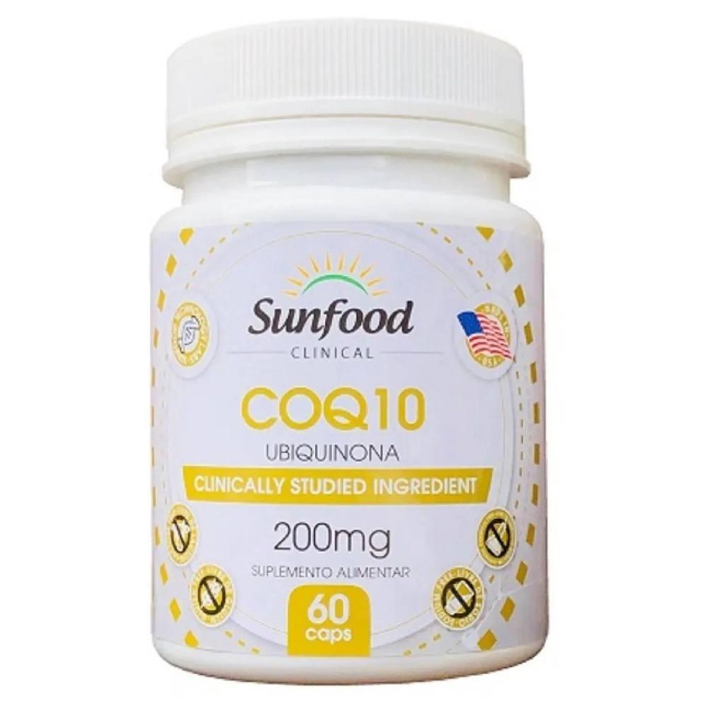 Coenzima Q10 60 cáps. SunFood