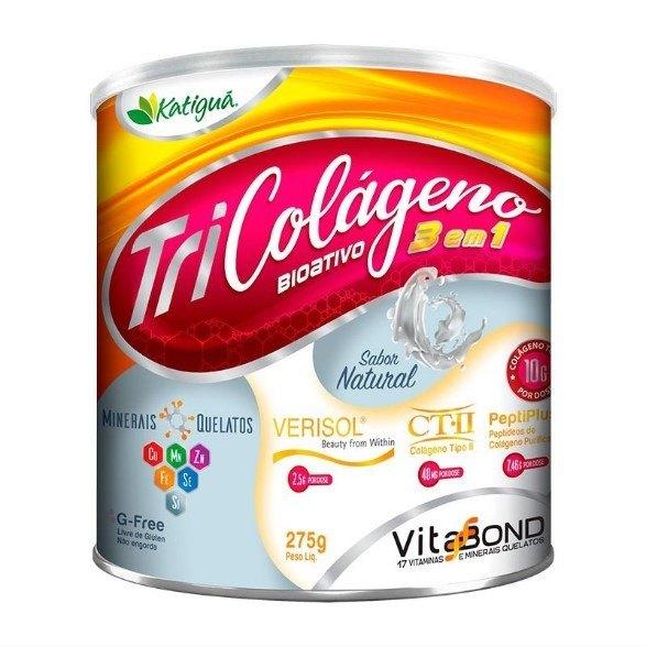 Colágeno Bioativo 3 em 1 - 275 Gramas - Katigua Natural