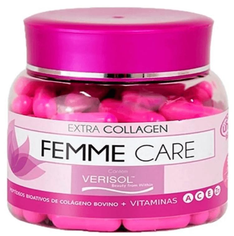 Colágeno Femme Care Hidrolisado Com Verisol 4.1 90 Cápsulas