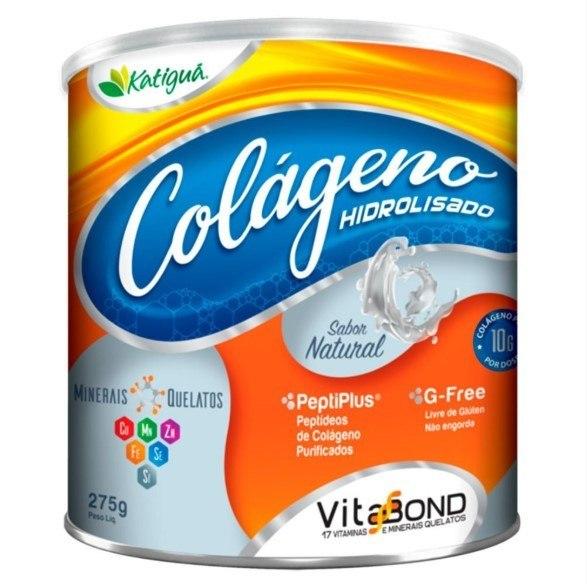 Colágeno Hidrolisado - 275 Gramas - Katigua Natural