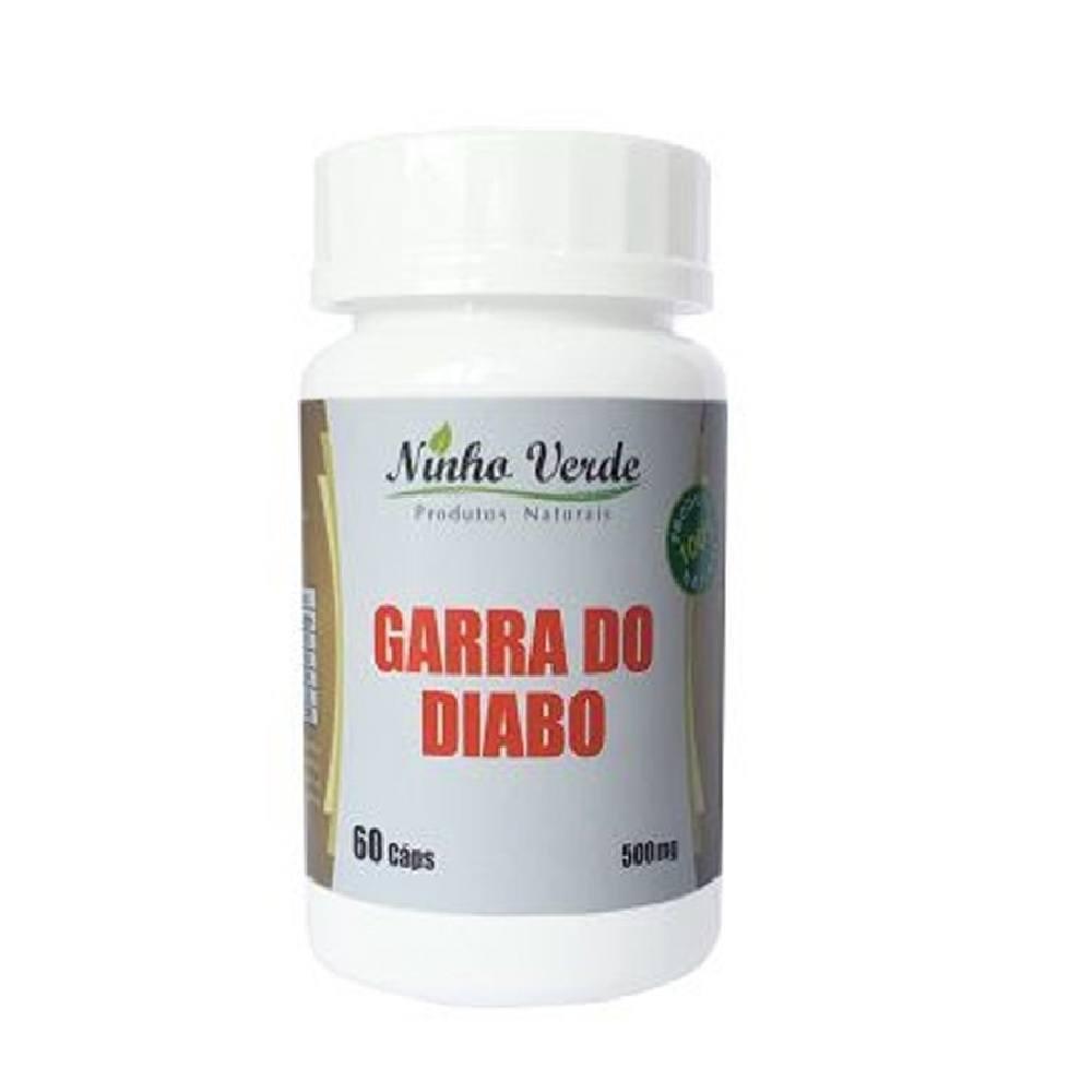 Garra do Diabo 60 cápsulas 500 mg Ninho Verde